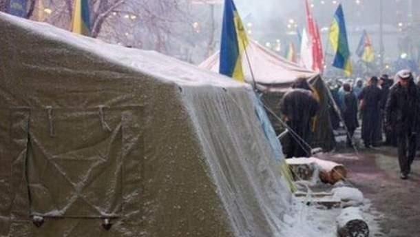 Намет на Майдані