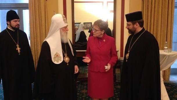 Патріархи Філарет і Святослав