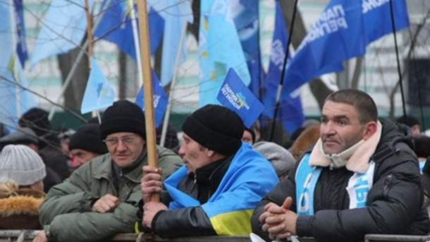 Учасники антимайдану