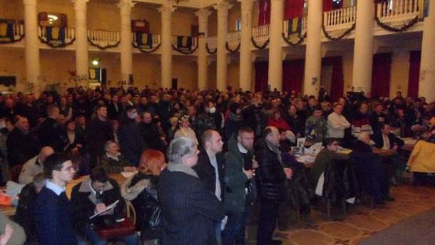 Общее собрание киевлян