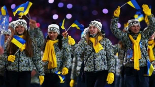 Одежду украинских спортсменов причислили к худшей на Олимпиаде в Сочи