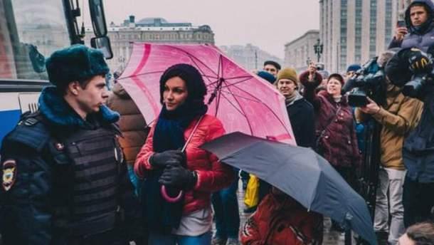 "Акция поддержки ""Дождя"""