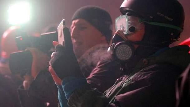 Журналісти на Грушевського