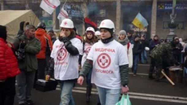 Волонтеры на Майдане