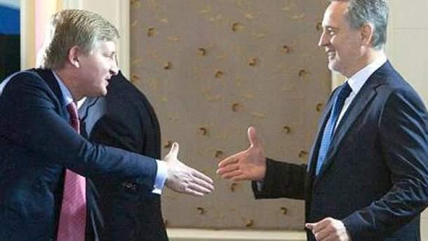 Ахметов і Фірташ
