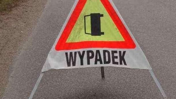 Аварія трапилася поблизу Варшави