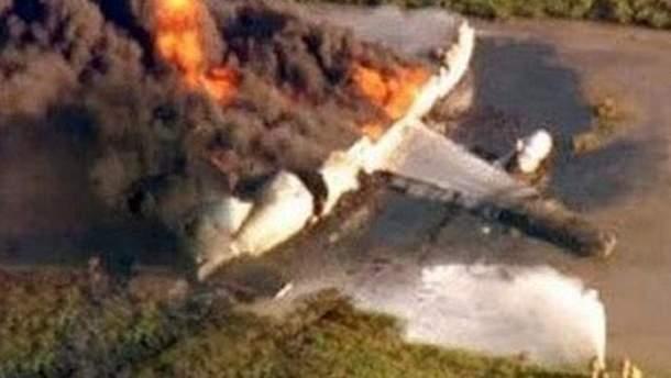Разбился самолет
