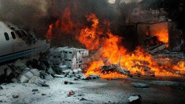 Авіакатастрофа в Алжирі
