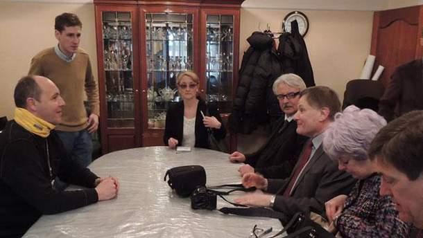 Представители НАТО и Андрей Парубий