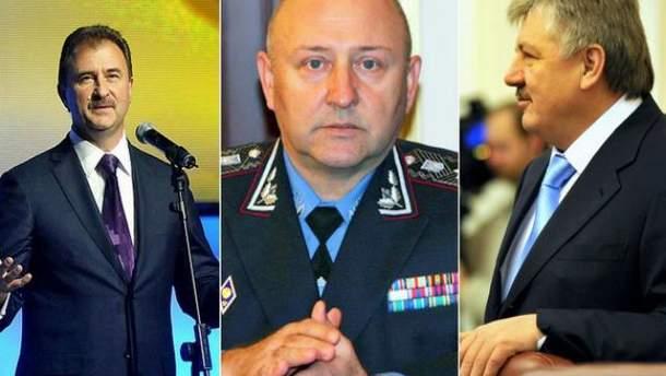 Олександр Попов,  Володимир Коряк, Володимира Сівкович