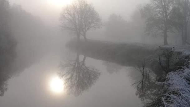 Местами прогнозируют туман