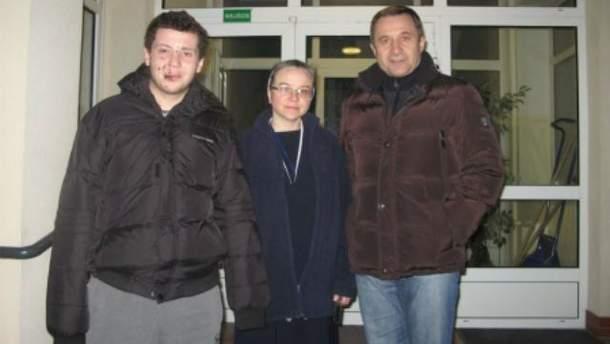 Роман Дзивинский (слева)