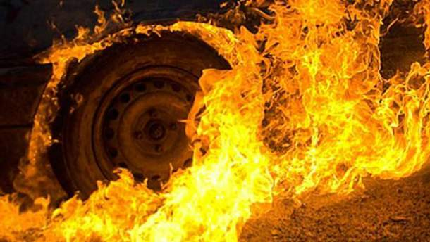 Згоріло авто