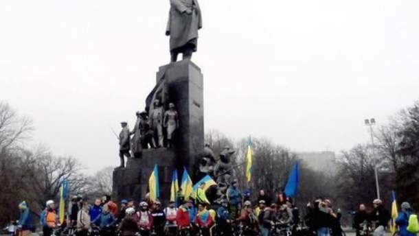 Велопробег в Харькове