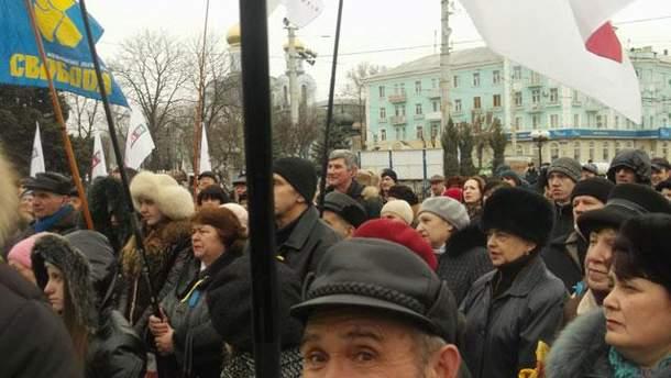 Віче в Луганську