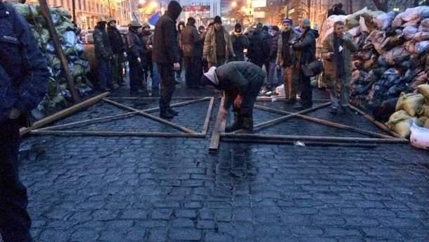 Металеві ворота на Грушевського