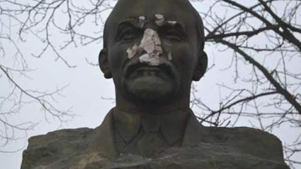 Ленин без носа