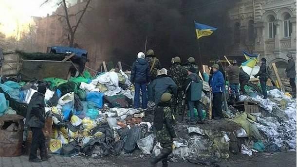 Протестувальники в Києві