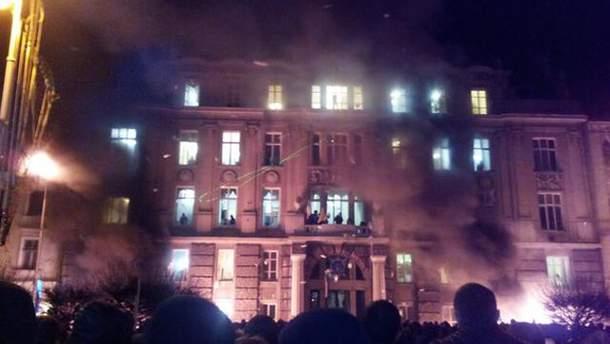 Здание прокуратуры Львовской области