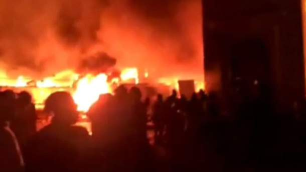 Пожар в консерватории
