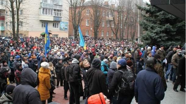 Штурм СБУ у Хмельницькому