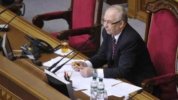 Спикер Владимир Рыбак