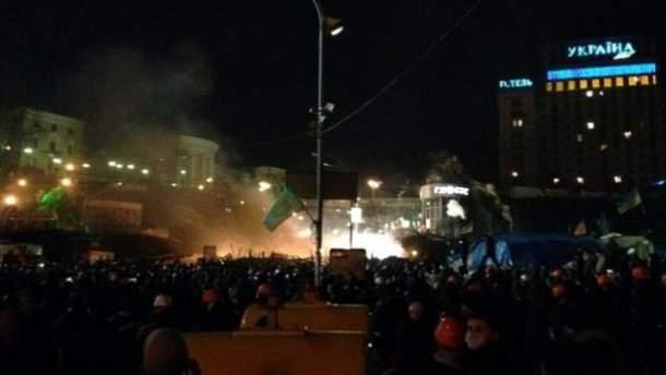 Штурм Майдану