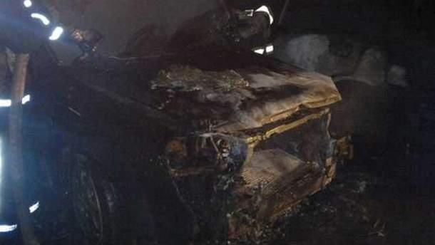 Сожженная машина