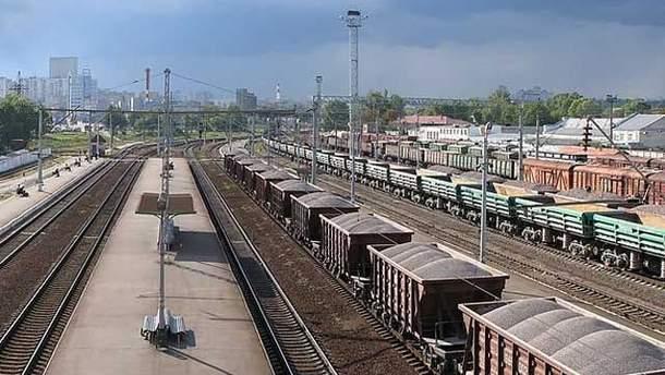 Поїзди мають прибути на станцію Київ - Московський