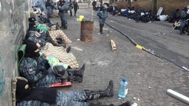 """Беркут"" у Києві"