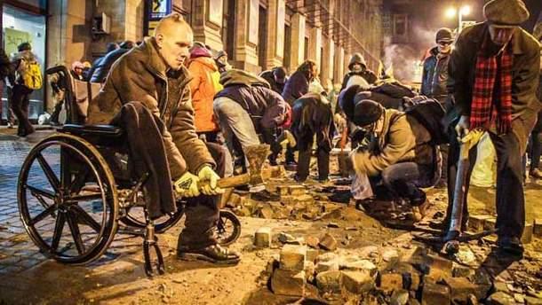 Майдан сегодня ночью