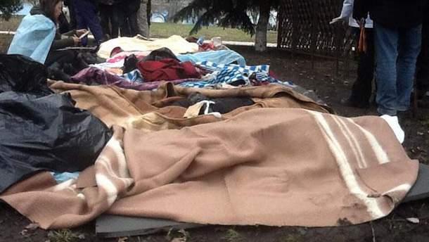 Погибшие возле Михайловского
