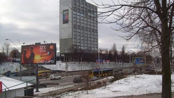 """Біля ст. метро """"Берестейська"""""""