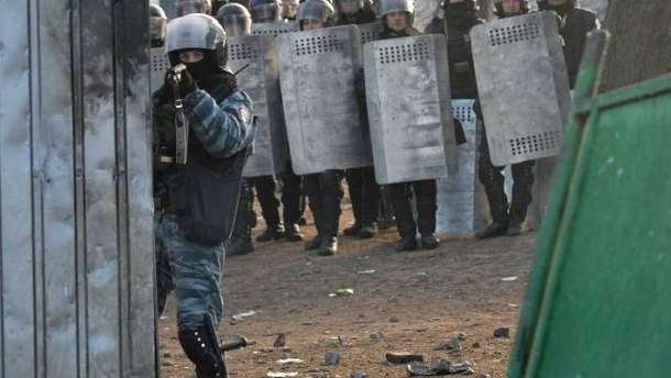 """""""Беркут"""" стріляє в протестувальників"""