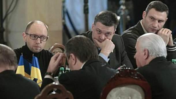 Встреча Януковича и оппозиции