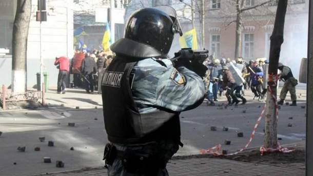Милиция стреляет в активистов