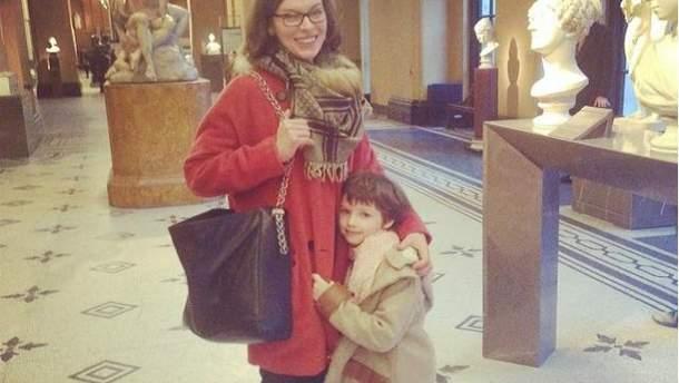 Мила Йовович с дочерью