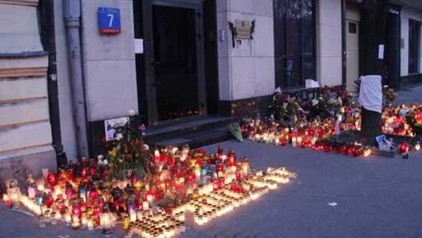 Варшава, поминовения погибших в Украине