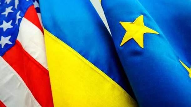 Украина-ЕС-США