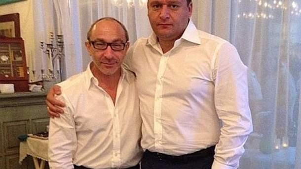 Геннадій Кернес і Михайло Добкін