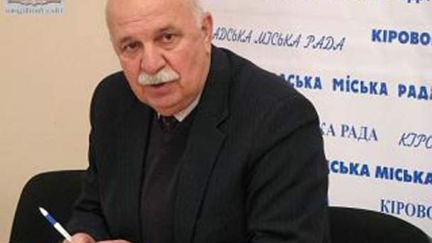 Мэр Кировограда Александр Саинсус