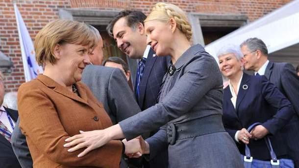 Тимошенко и Меркель