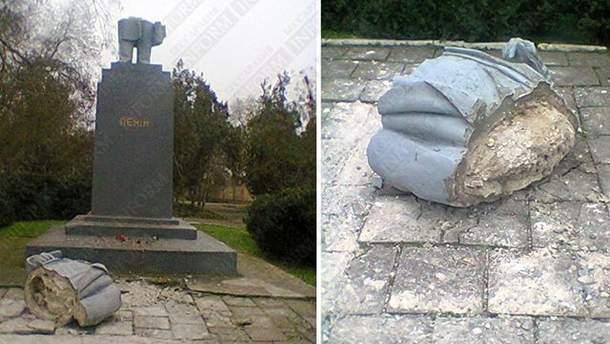 Памятник Ленину в Килии