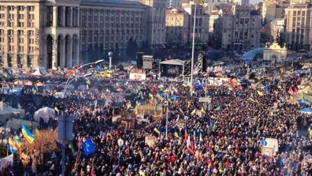 Вече на Майдане Незалежности