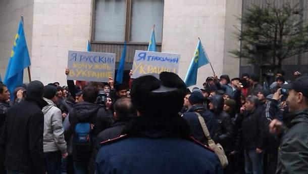 Противостояние в Крыму