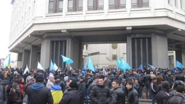 Мітинг в Сімферополі