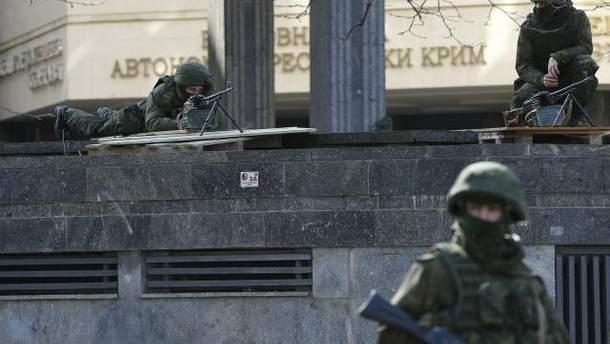 Військові в Криму