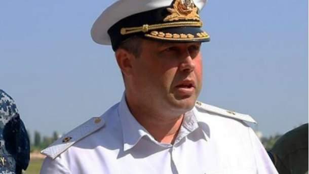 Экс-командующий ВМС Украины Денис Березовский