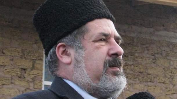 Председатель Меджлиса Рефат Чубаров