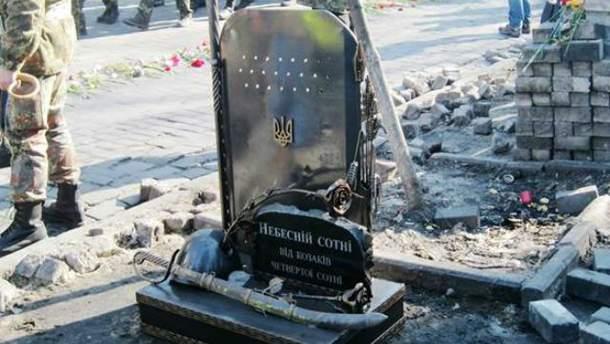Памятник Максиму Шимко